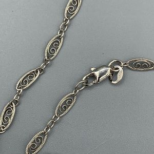 Jewelry - Pretty Intricate Sterling Silver Necklace